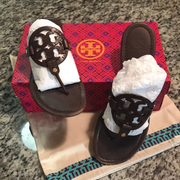 66e9136fccb41c Preowned 💕Tory Burch Miller Sandals💕Size 10.5